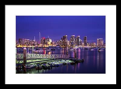 San Diego Framed Prints