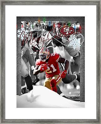 San Francisco 49ers Christmas Card Framed Print