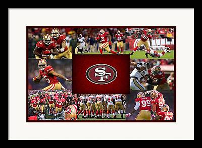 49ers Framed Prints