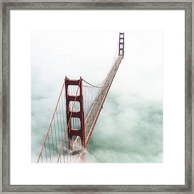 San Francisco Golden Gate Bridge Framed Print by Franckreporter