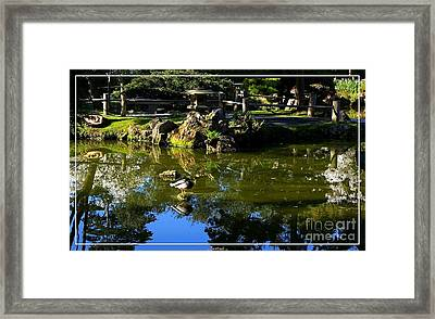 San Francisco Golden Gate Park Japanese Tea Garden 10 Framed Print by Robert Santuci