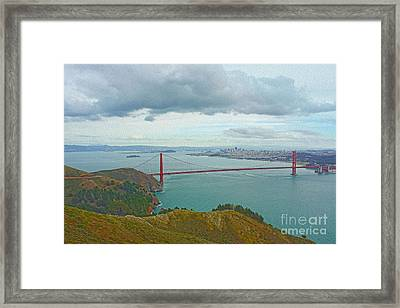 San Francisco Framed Print by Nur Roy