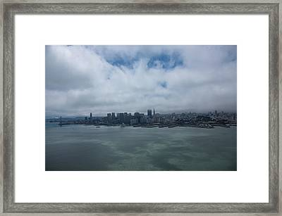 San Francisco Skyline Framed Print by Steven Lapkin