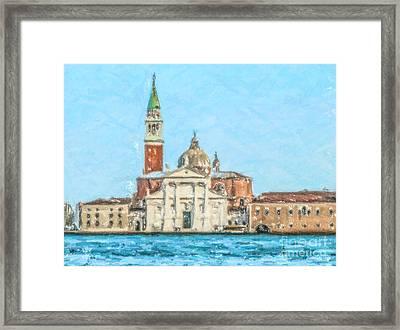 San Giorgio Maggiore Venice Italy Framed Print