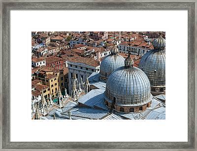 San Marco Basilica. Venice. Framed Print by Fernando Barozza