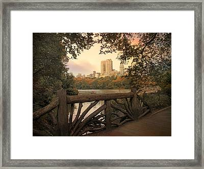 San Remo At Sunset Framed Print by Jessica Jenney