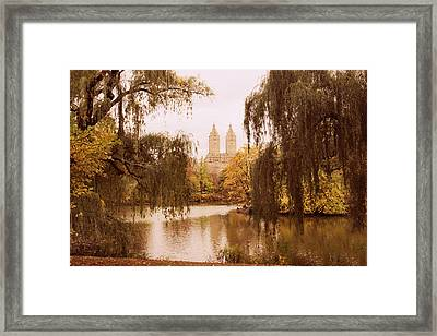 San Remo Reflections Framed Print by Jessica Jenney