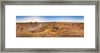 Coyote Buttes Arizona Framed Print by Yva Momatiuk John Eastcott