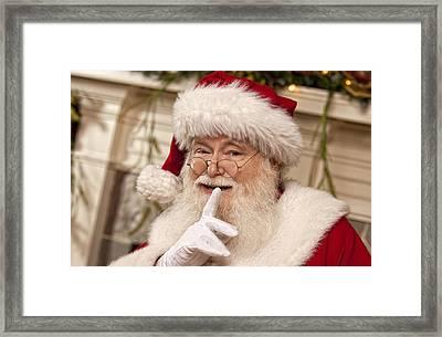 Santa Claus Framed Print by Doc Braham