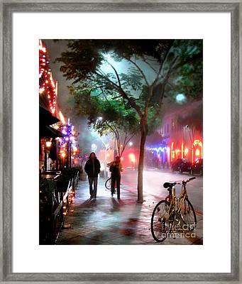 Santa Monica Secrets Framed Print