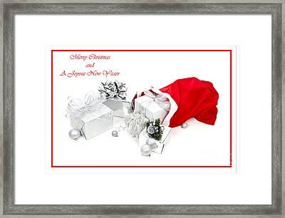 Santa's Bag Framed Print by Jan Tyler