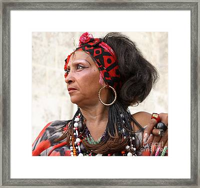 Santeria Woman Framed Print by PJ Boylan