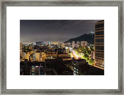 Santiago Framed Print by Babak Tafreshi