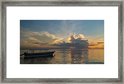 Sanur Beach - Bali Framed Print