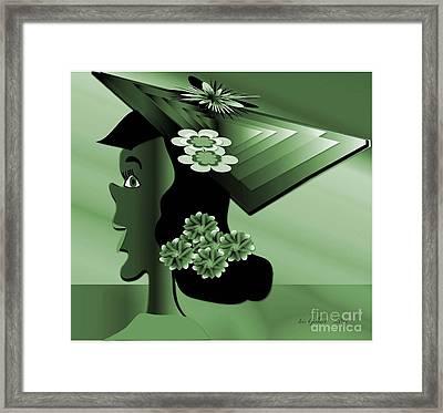 Sarah Framed Print by Iris Gelbart