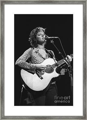Sarah Mclachlan Framed Print by Concert Photos