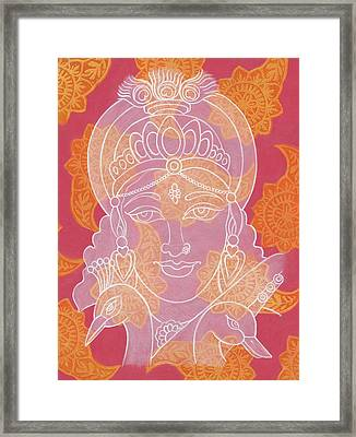 Saraswati Framed Print by Jennifer Mazzucco
