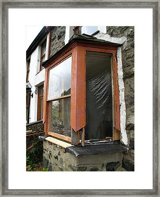 Sash Window Refurbishment Framed Print
