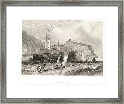 Scarborough Framed Print by British Library