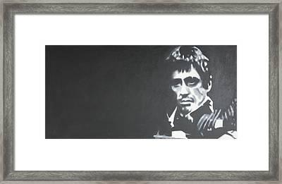 Scarface 2013 Framed Print by Luis Ludzska