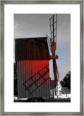 Scene @ Oland Sweden Framed Print
