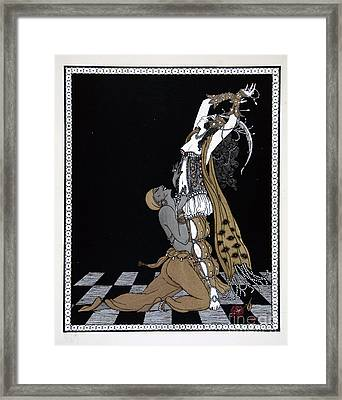 Scheherazade Framed Print by Georges Barbier