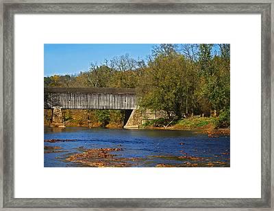 Schofield Ford Covered Bridge Framed Print