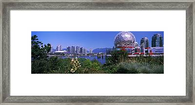 Science Museum At The Waterfront Framed Print