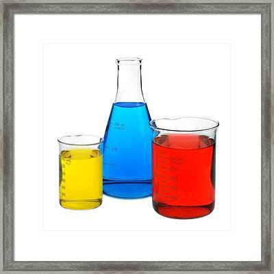 Science Of Color Framed Print