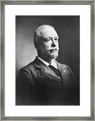 Scientist Auguste Forel Framed Print