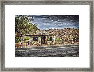 Scorpion Gulch Framed Print