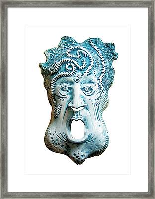 Scream Framed Print by Evin Pesic