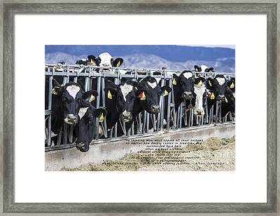Screams Of Pain And Fear Framed Print by Janice Rae Pariza
