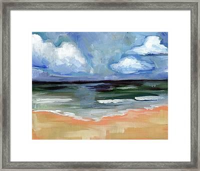 Sea Framed Print by Anne Seay