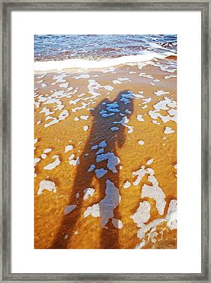 Framed Print featuring the photograph Sea Magic by Ankya Klay