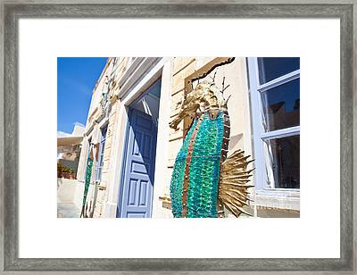 Seahorse Of Glass Framed Print