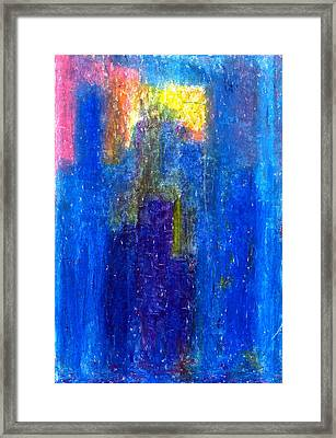 Search For The Light Framed Print by Yuri Lushnichenko