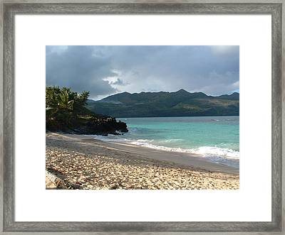 Seascape 1 Framed Print