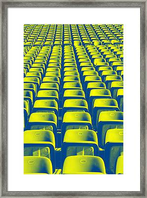 Seats Framed Print