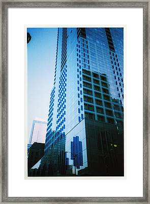 Seattle Framed Print by Matt Smith