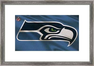 Seattle Seahawks Uniform Framed Print