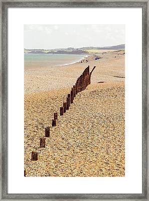 Second World War Defences Framed Print by Ashley Cooper