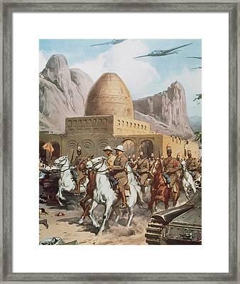 Second World War Framed Print by Prisma Archivo