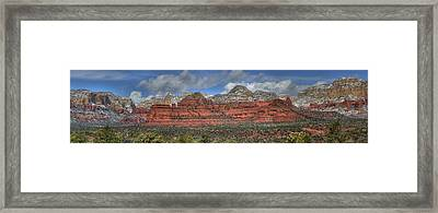 Secret Mountains Framed Print