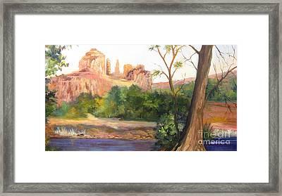 Sedona Arizona Framed Print by Barbara Haviland