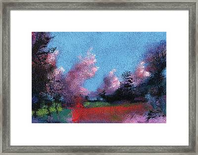 Seeing Red Framed Print by Neil McBride