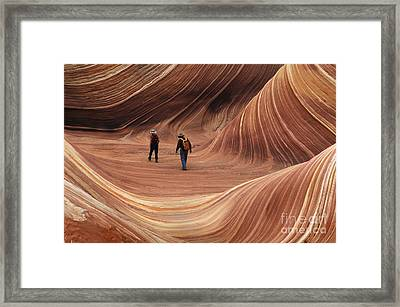 Seeking Solitude Framed Print by Bob Christopher