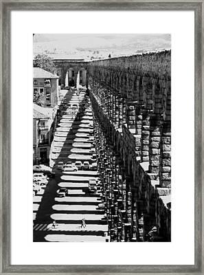 Segovia Aqueduct Framed Print