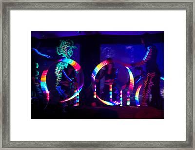 Sekai Dark Spirit  Framed Print