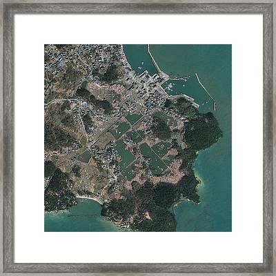 Sendai, Japan, Post-tsunami Framed Print